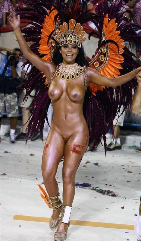 サンバカーニバルで外国人がおっぱい丸出しで踊り狂うエロ画像 36枚 No.22