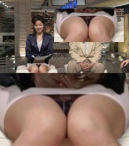 芸能人や女子アナ・アイドルのデルタパンチラを盗撮したエロ画像 33枚 No.32