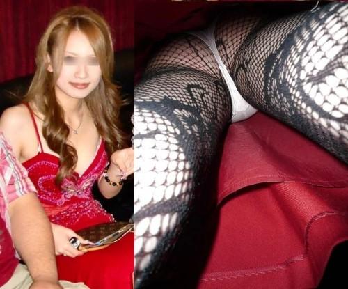 (えろ写真)同伴希望☆きゃば嬢のパンツ丸見えや美足を秘密撮影したったwww 31枚