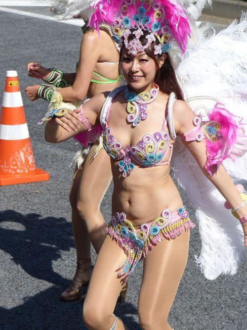 【エロ画像】日本で開催されたサンバカーニバルもほぼ裸体な件 41枚 No.23