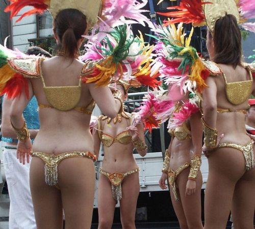 【エロ画像】日本で開催されたサンバカーニバルもほぼ裸体な件 41枚 No.24