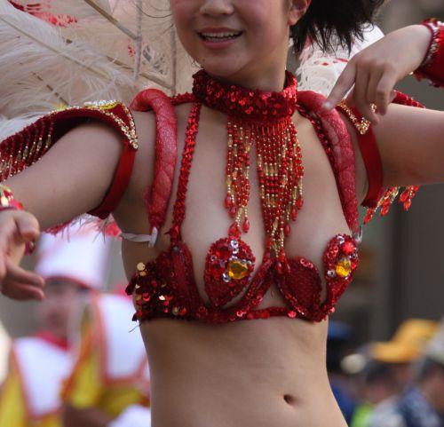 【エロ画像】日本で開催されたサンバカーニバルもほぼ裸体な件 41枚 No.41