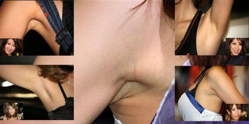 【腋フェチ】腋汗が臭ってきそうなほどドアップなワキのエロ画像 47枚 No.12