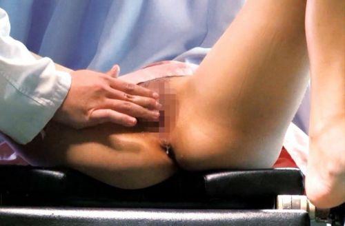 産婦人科でくぱぁと開いたおまんこのドアップを激写したエロ画像 31枚 No.8