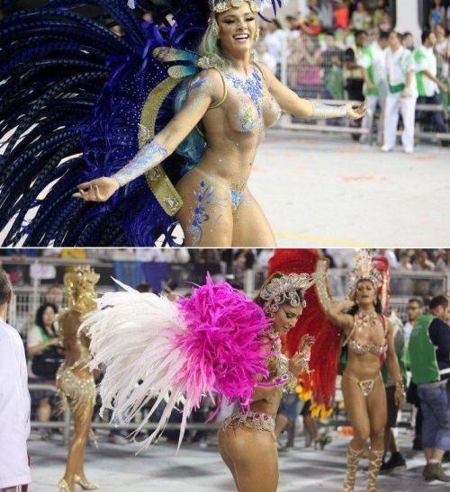 【画像】外国人サンバダンサーの豊満な肉体と衣装がエロ過ぎるwww 35枚 No.12