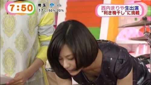 【TVキャプチャ】芸能人が胸の谷間をチラリした瞬間のお宝エロ画像 37枚 No.29