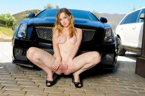 全裸外国人が車と共にセクシーなポージングをしちゃうエロ画像 34枚 No.34