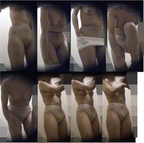 銭湯と温泉の女子更衣室で女性のおっぱいとオマンコ盗撮したエロ画像 34枚 No.3
