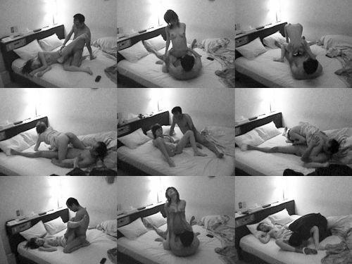 【盗撮画像】ラブホテルで他のカップルのセックスの方法って気になるよね! 34枚 No.27