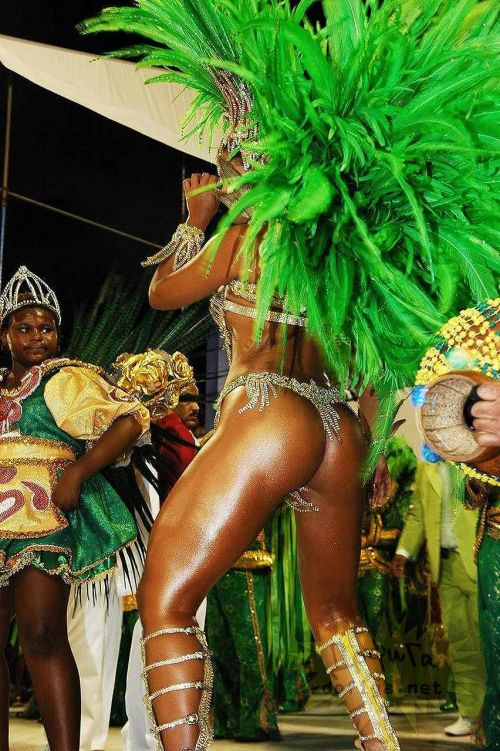リオのカーニバルで有名なサンバ衣装を着たお姉さんのお尻エロ画像 37枚 No.34