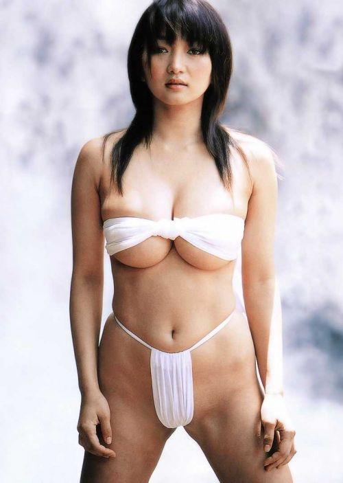 女の子の褌(ふんどし)姿の股間に思わず注目しちゃうエロ画像 54枚 No.2