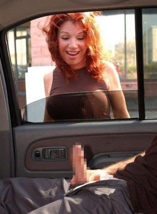 外国人が大きな外車でワイルドにカーセックスしちゃうエロ画像 35枚 No.5
