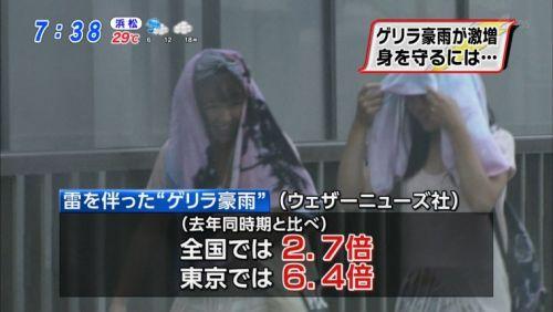 台風中継でずぶ濡れになっている素人JKがエロ過ぎなんだがwww 39枚 No.11