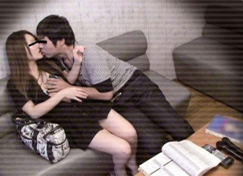 カラオケで盛り上がってセックスし始めちゃう素人カップルのエロ画像 49枚 No.29
