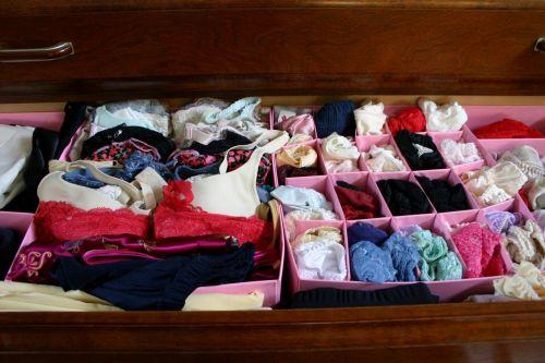 【画像】タンスのエロい下着を綺麗に並べる模範解答がこちらです! 31枚 No.15