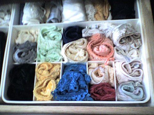 【画像】タンスのエロい下着を綺麗に並べる模範解答がこちらです! 31枚 No.20