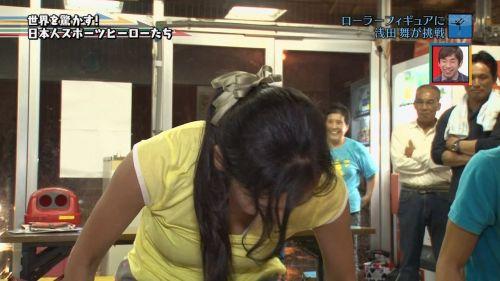 浅田舞のTVで起きたハプニングエロ画像まとめたったwww 58枚 No.12