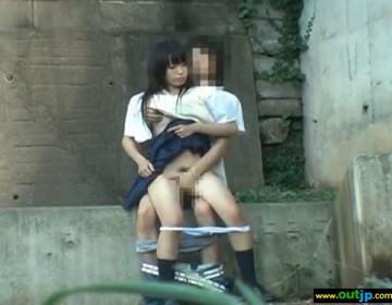 露出狂同士のカップルが野外セックスで興奮しちゃう青姦エロ画像 32枚 No.14