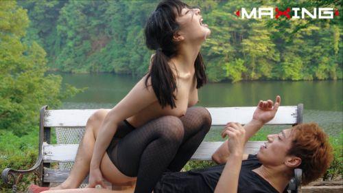 大自然の中や街中で激しく野外セックスしちゃうカップル達のエロ画像 36枚 No.10