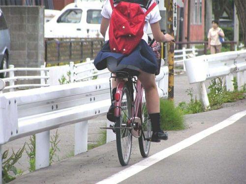 自転車通学中JKのお尻から見えちゃうパンチラを厳選したエロ画像 38枚 No.28
