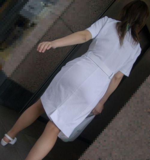 看護師さんのナース服から透けたパンティラインに勃起しちゃうエロ画像 31枚 No.17