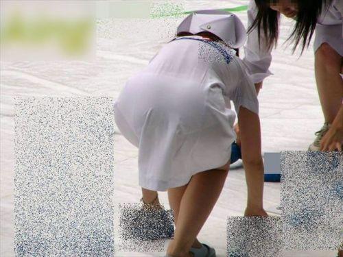 看護師さんのナース服から透けたパンティラインに勃起しちゃうエロ画像 31枚 No.18