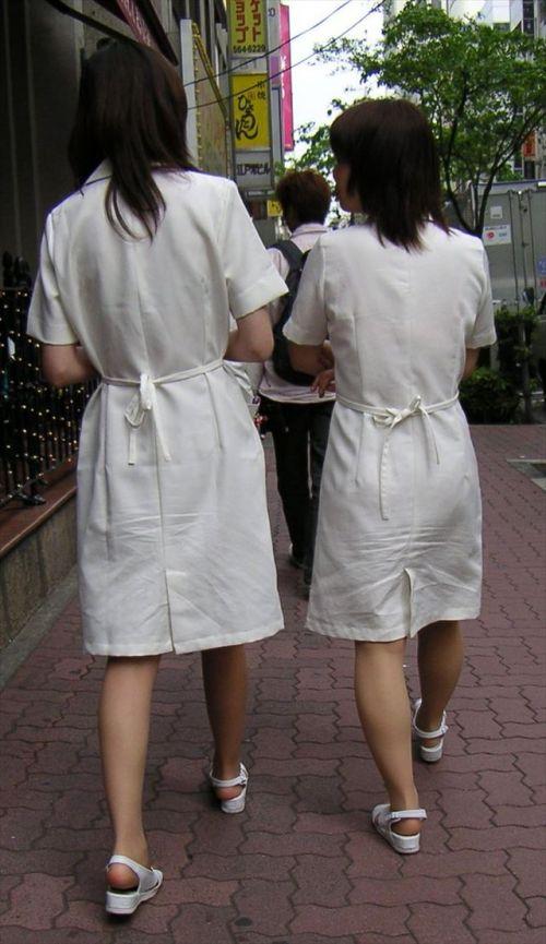 看護師さんのナース服から透けたパンティラインに勃起しちゃうエロ画像 31枚 No.19
