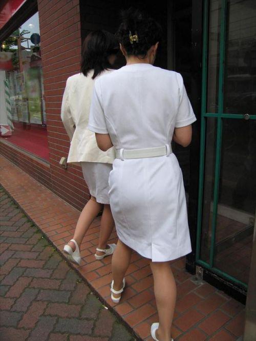 看護師さんのナース服から透けたパンティラインに勃起しちゃうエロ画像 31枚 No.20