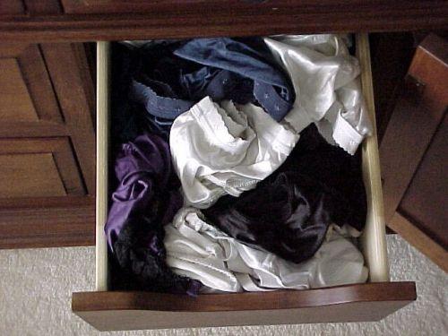 【画像】整理整頓が出来ないガサツ娘のタンスの下着見てみる? 34枚 No.15