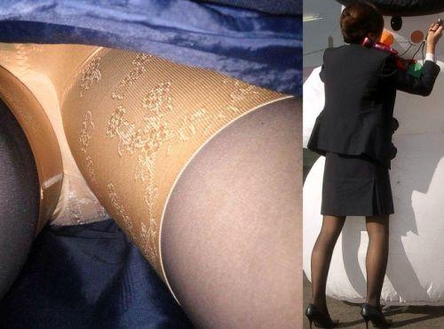 新幹線の制服を着た売り子さん限定で逆さ撮り盗撮したエロ画像 61枚 No.4
