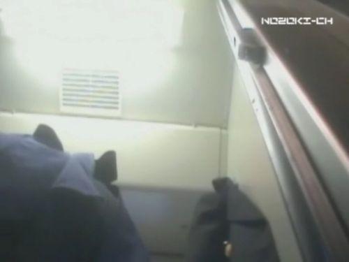新幹線の制服を着た売り子さん限定で逆さ撮り盗撮したエロ画像 61枚 No.48