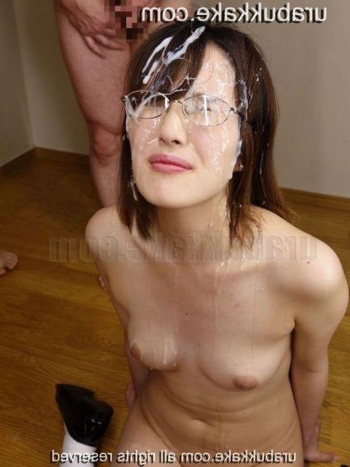 【画像】眼鏡っ娘の眼鏡にザーメンぶっかける顔射がエロ過ぎるwww 34枚 No.3