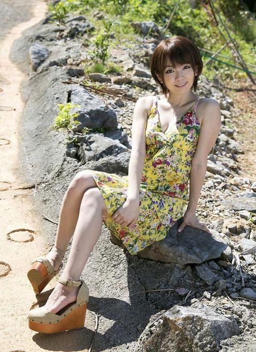 希美まゆ(のぞみまゆ)元ALC職人!色白でムッチリなショートヘアAV女優エロ画像 231枚 No.32