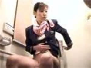 スチュワーデスのお姉さんがトイレで排泄物を出しちゃう盗撮エロ画像 48枚 No.9