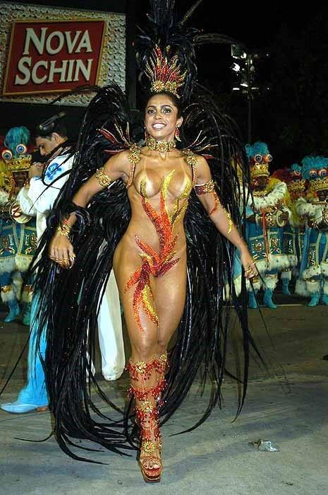 サンバカーニバルで巨乳外国人がおっぱい丸出しなエロ画像 35枚 No.17