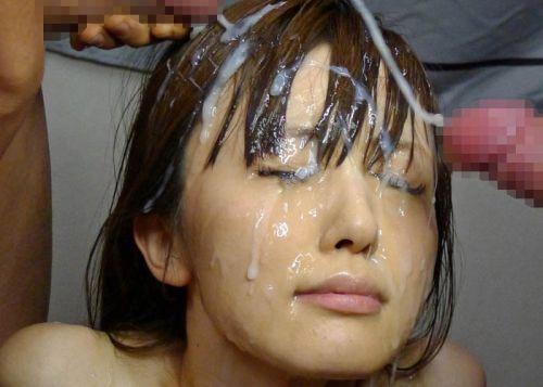 お姉さんの綺麗な髪の毛を汚したい!ザーメンぶっかけ髪射画像 39枚 No.8