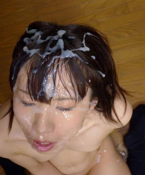 お姉さんの綺麗な髪の毛を汚したい!ザーメンぶっかけ髪射画像 39枚 No.35