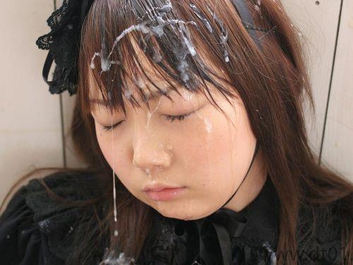 お姉さんの綺麗な髪の毛を汚したい!ザーメンぶっかけ髪射画像 39枚 No.38