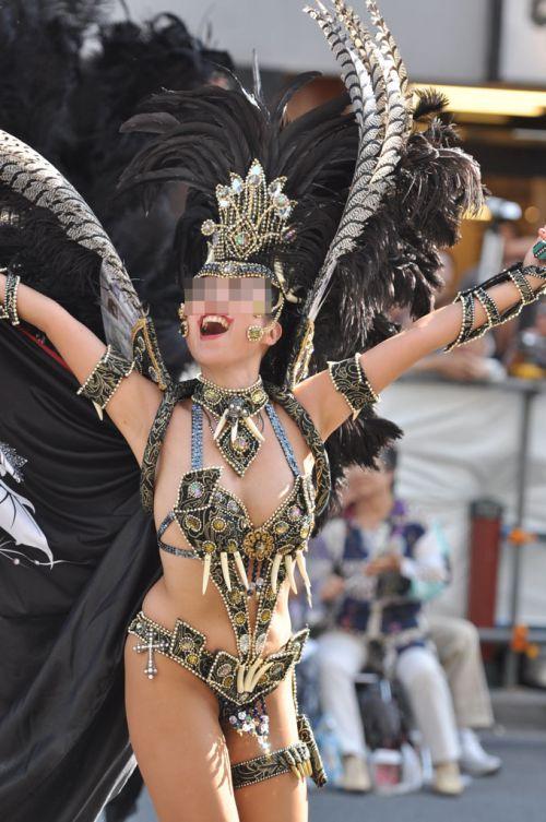 【画像】日本人サンバダンサーのTバックのプリケツが激エロwww 39枚 No.31