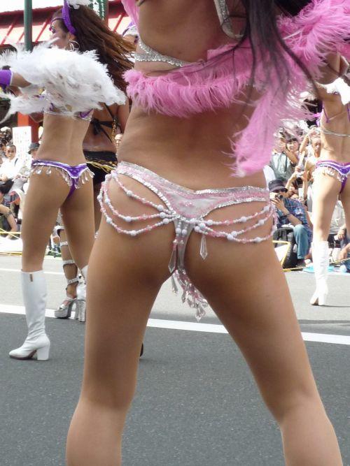 【画像】日本人サンバダンサーのTバックのプリケツが激エロwww 39枚 No.35
