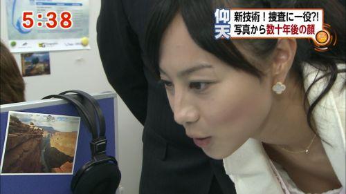 アイドル・女子アナが前屈みで胸チラしたお宝芸能画像まとめ 36枚 No.2