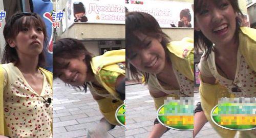 アイドル・女子アナが前屈みで胸チラしたお宝芸能画像まとめ 36枚 No.3