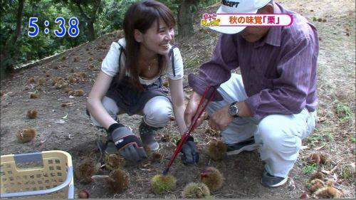 アイドル・女子アナが前屈みで胸チラしたお宝芸能画像まとめ 36枚 No.11