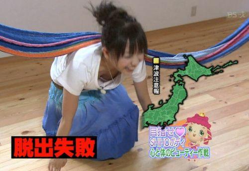 アイドル・女子アナが前屈みで胸チラしたお宝芸能画像まとめ 36枚 No.21