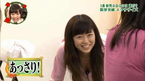 アイドル・女子アナが前屈みで胸チラしたお宝芸能画像まとめ 36枚 No.28
