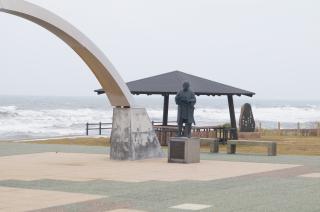 小平道の駅記念碑