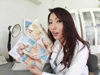 【無修正】あずま樹 初裏 診療内科の女医