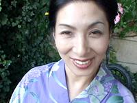 【無修正】四十路の浴衣 川島千代子初裏作品
