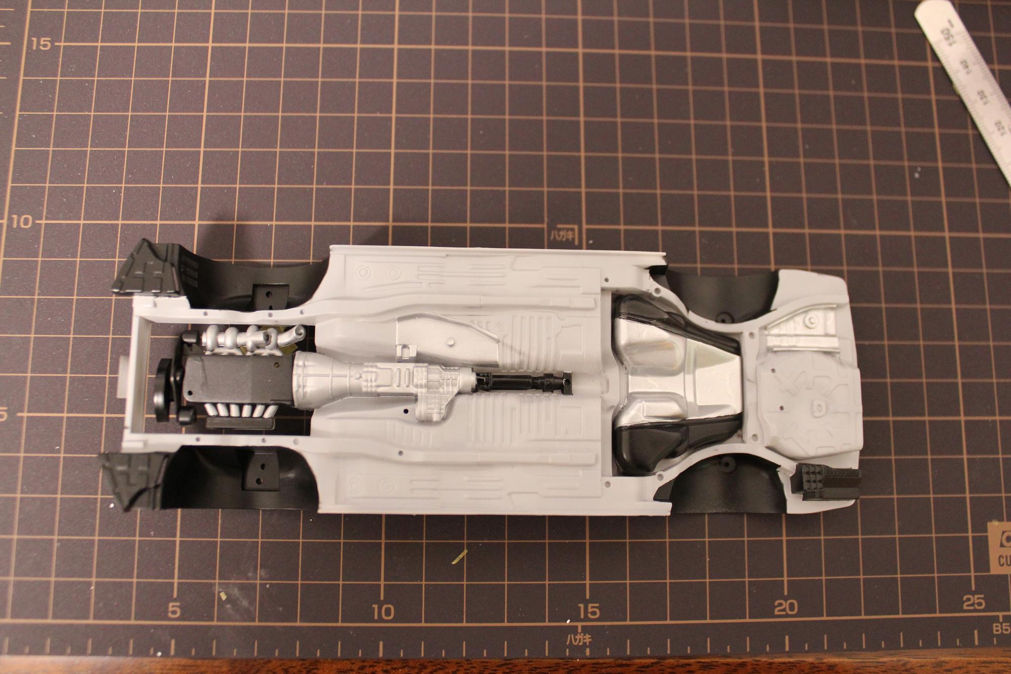 R33GT-Rシャーシ裏