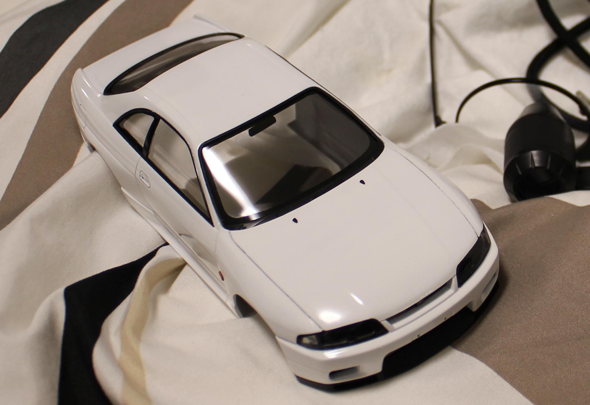 R33ウォッシャーノズル黒
